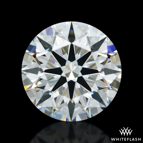 0.757 ct F VVS1 A CUT ABOVE® Hearts and Arrows Super Ideal Round Cut Loose Diamond