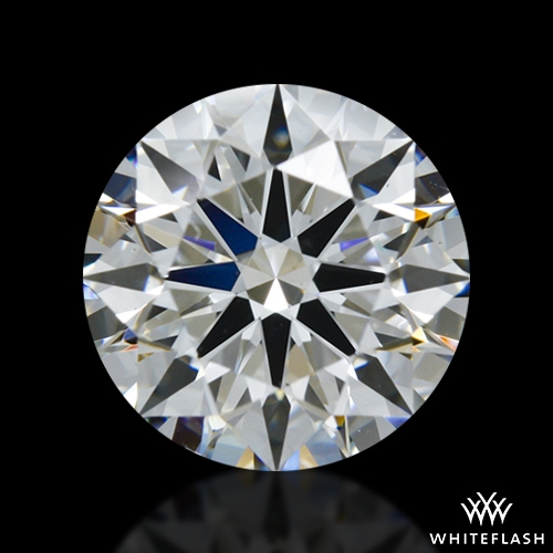 1.161 ct F VS2 A CUT ABOVE® Hearts and Arrows Super Ideal Round Cut Loose Diamond