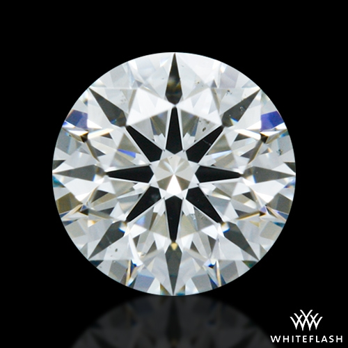 0.428 ct J VS2 A CUT ABOVE® Hearts and Arrows Super Ideal Round Cut Loose Diamond