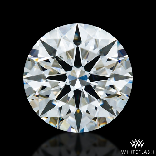 0.814 ct F SI1 A CUT ABOVE® Hearts and Arrows Super Ideal Round Cut Loose Diamond