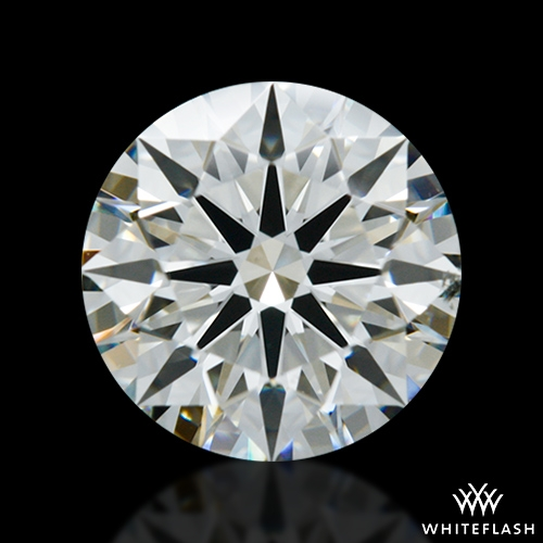 1.143 ct J VS2 A CUT ABOVE® Hearts and Arrows Super Ideal Round Cut Loose Diamond