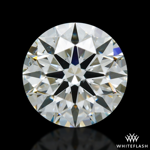 0.621 ct I SI1 A CUT ABOVE® Hearts and Arrows Super Ideal Round Cut Loose Diamond