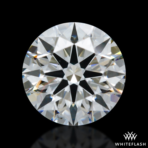 0.558 ct F VS2 A CUT ABOVE® Hearts and Arrows Super Ideal Round Cut Loose Diamond