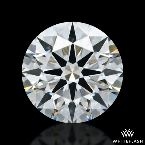 0.801 ct F VVS1 A CUT ABOVE® Hearts and Arrows Super Ideal Round Cut Loose Diamond