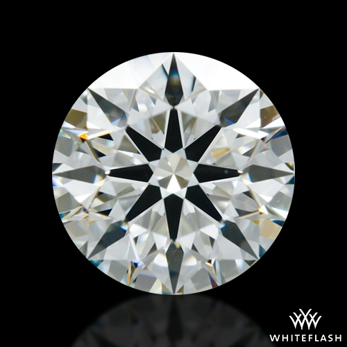 0.754 ct I VS2 A CUT ABOVE® Hearts and Arrows Super Ideal Round Cut Loose Diamond