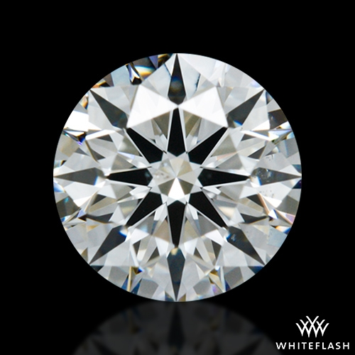0.60 ct G SI1 A CUT ABOVE® Hearts and Arrows Super Ideal Round Cut Loose Diamond