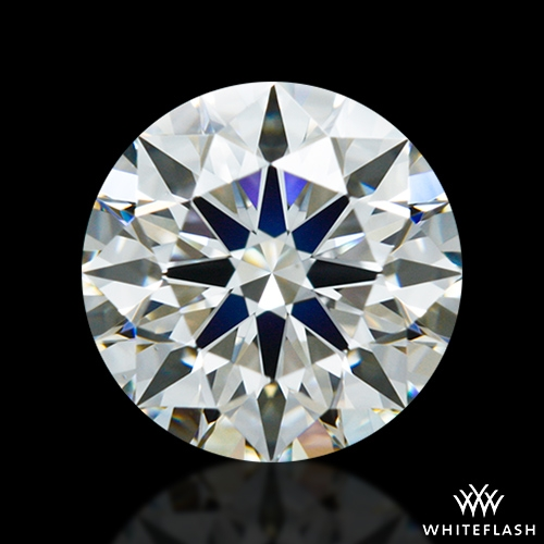 0.966 ct J VS1 A CUT ABOVE® Hearts and Arrows Super Ideal Round Cut Loose Diamond