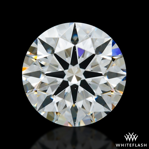 0.718 ct H VS2 A CUT ABOVE® Hearts and Arrows Super Ideal Round Cut Loose Diamond