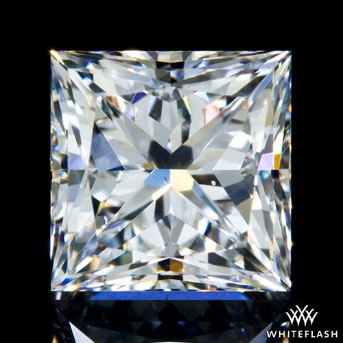 0.705 ct E VS2 A CUT ABOVE® Princess Super Ideal Cut Diamond