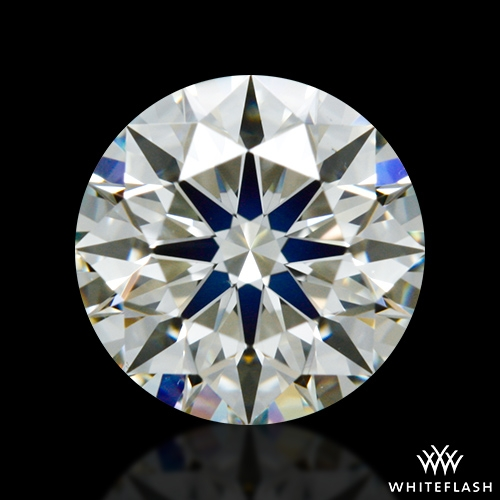 0.838 ct J VS1 A CUT ABOVE® Hearts and Arrows Super Ideal Round Cut Loose Diamond