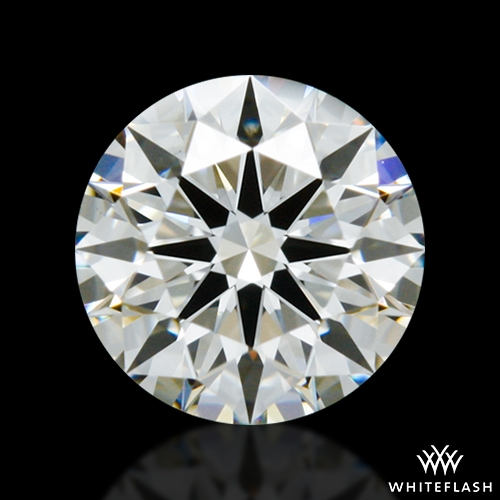 0.638 ct H VS2 A CUT ABOVE® Hearts and Arrows Super Ideal Round Cut Loose Diamond