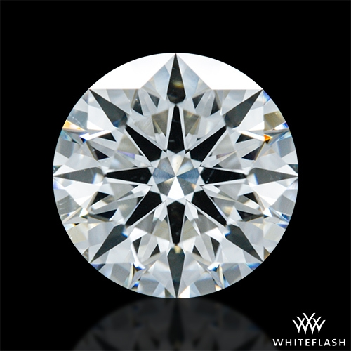 1.402 ct H SI1 A CUT ABOVE® Hearts and Arrows Super Ideal Round Cut Loose Diamond
