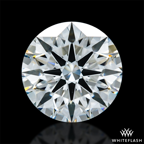 1.407 ct H VS1 A CUT ABOVE® Hearts and Arrows Super Ideal Round Cut Loose Diamond