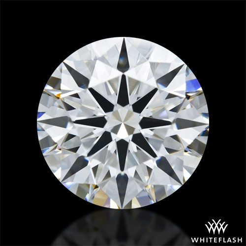 1.133 ct G VVS1 A CUT ABOVE® Hearts and Arrows Super Ideal Round Cut Loose Diamond