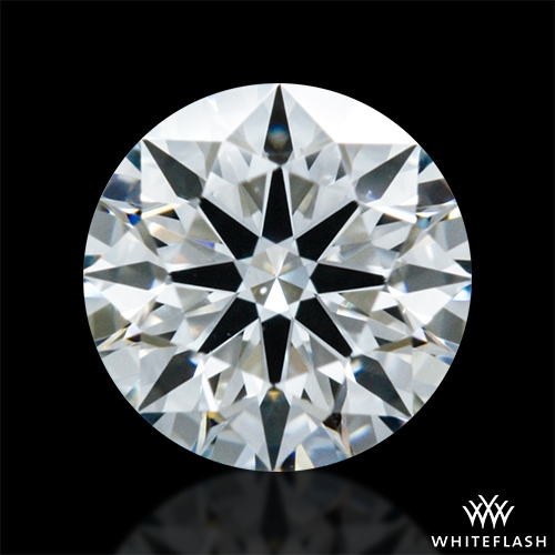 0.323 ct G VS2 A CUT ABOVE® Hearts and Arrows Super Ideal Round Cut Loose Diamond