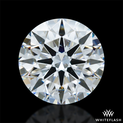 0.948 ct F VS2 A CUT ABOVE® Hearts and Arrows Super Ideal Round Cut Loose Diamond