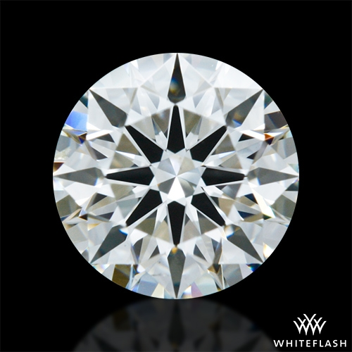 0.942 ct I SI1 A CUT ABOVE® Hearts and Arrows Super Ideal Round Cut Loose Diamond