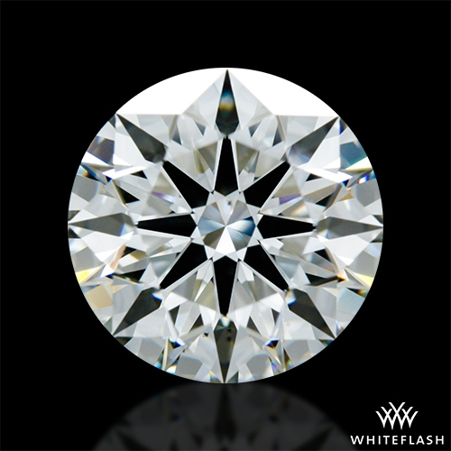 2.101 ct H VS2 A CUT ABOVE® Hearts and Arrows Super Ideal Round Cut Loose Diamond