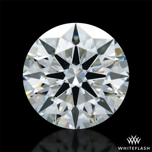 0.801 ct H VS1 A CUT ABOVE® Hearts and Arrows Super Ideal Round Cut Loose Diamond