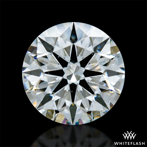 0.752 ct G VS1 A CUT ABOVE® Hearts and Arrows Super Ideal Round Cut Loose Diamond