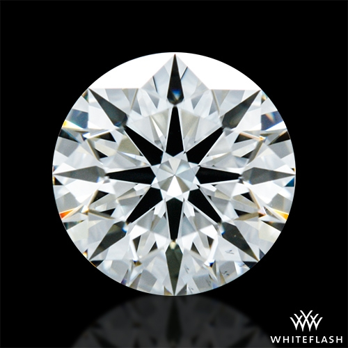 0.684 ct I VS2 A CUT ABOVE® Hearts and Arrows Super Ideal Round Cut Loose Diamond