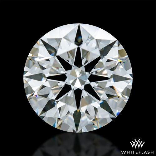 1.247 ct H VS2 A CUT ABOVE® Hearts and Arrows Super Ideal Round Cut Loose Diamond