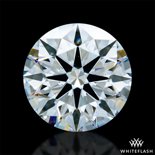 1.411 ct F VS1 A CUT ABOVE® Hearts and Arrows Super Ideal Round Cut Loose Diamond