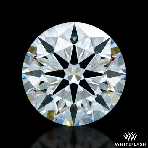 1.406 ct F VS1 A CUT ABOVE® Hearts and Arrows Super Ideal Round Cut Loose Diamond