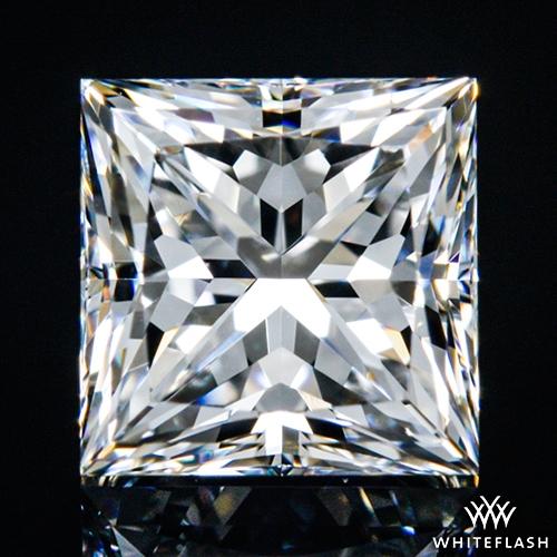 0.80 ct F VS1 A CUT ABOVE® Princess Super Ideal Cut Diamond