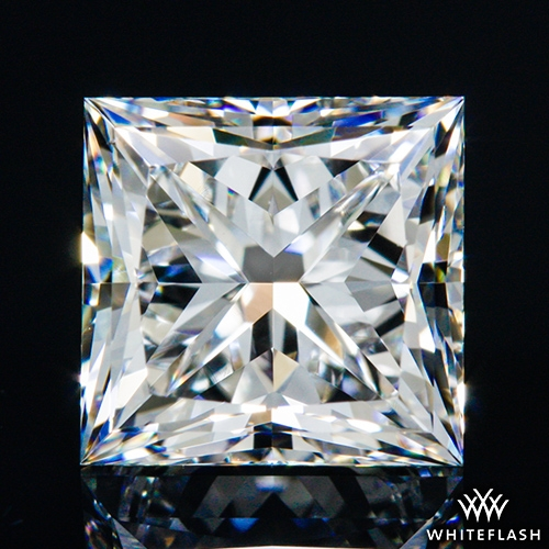 1.44 ct F VS1 A CUT ABOVE® Princess Super Ideal Cut Diamond