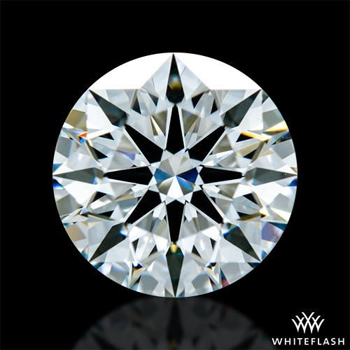 1.307 ct E VVS2 A CUT ABOVE® Hearts and Arrows Super Ideal Round Cut Loose Diamond