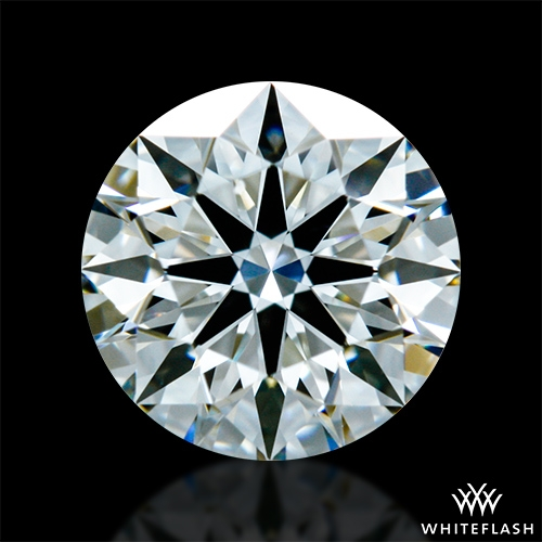 0.723 ct H VS2 A CUT ABOVE® Hearts and Arrows Super Ideal Round Cut Loose Diamond