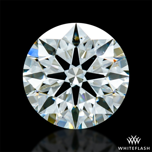 0.83 ct I VS2 A CUT ABOVE® Hearts and Arrows Super Ideal Round Cut Loose Diamond