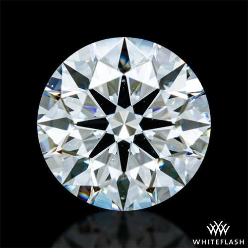 0.546 ct F SI1 A CUT ABOVE® Hearts and Arrows Super Ideal Round Cut Loose Diamond