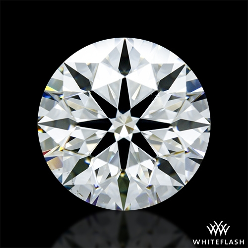 4.07 ct H VS2 A CUT ABOVE® Hearts and Arrows Super Ideal Round Cut Loose Diamond