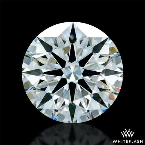 1.40 ct H SI1 A CUT ABOVE® Hearts and Arrows Super Ideal Round Cut Loose Diamond