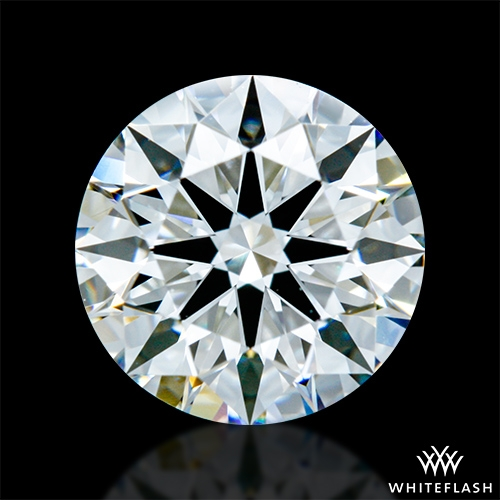 1.308 ct F VVS2 A CUT ABOVE® Hearts and Arrows Super Ideal Round Cut Loose Diamond