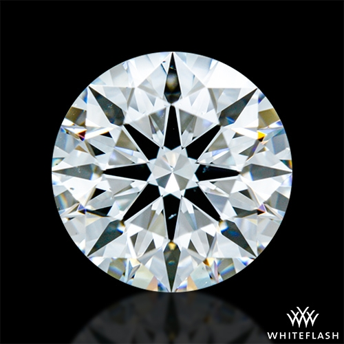 1.476 ct F VS2 A CUT ABOVE® Hearts and Arrows Super Ideal Round Cut Loose Diamond