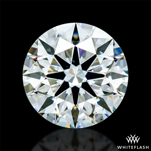 0.814 ct H VS2 A CUT ABOVE® Hearts and Arrows Super Ideal Round Cut Loose Diamond