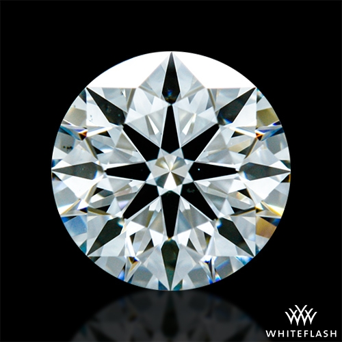 0.912 ct H VS2 A CUT ABOVE® Hearts and Arrows Super Ideal Round Cut Loose Diamond