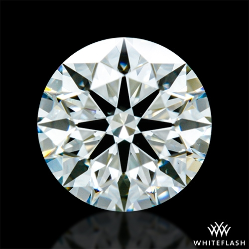 0.703 ct J VS2 A CUT ABOVE® Hearts and Arrows Super Ideal Round Cut Loose Diamond