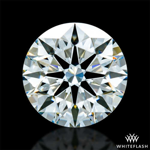 0.787 ct H VS2 A CUT ABOVE® Hearts and Arrows Super Ideal Round Cut Loose Diamond