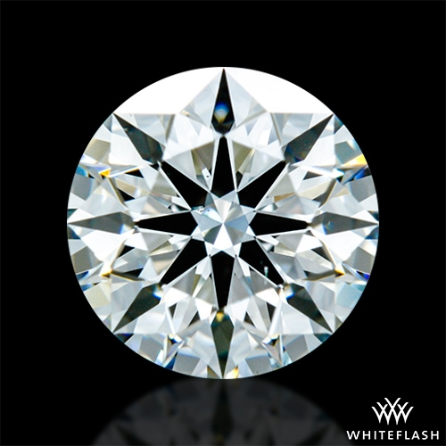 0.79 ct H VS2 A CUT ABOVE® Hearts and Arrows Super Ideal Round Cut Loose Diamond