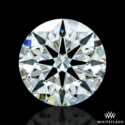 1.14 ct F VS1 A CUT ABOVE® Hearts and Arrows Super Ideal Round Cut Loose Diamond