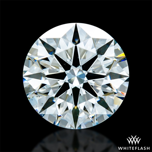 1.42 ct F VS2 A CUT ABOVE® Hearts and Arrows Super Ideal Round Cut Loose Diamond