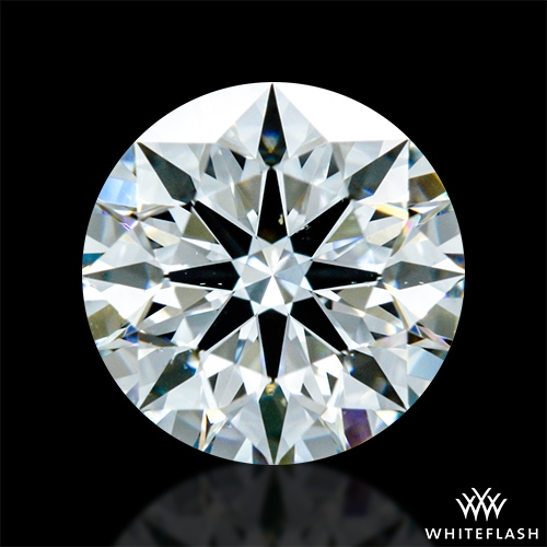 0.836 ct G SI1 A CUT ABOVE® Hearts and Arrows Super Ideal Round Cut Loose Diamond