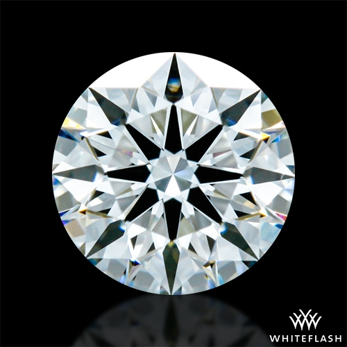 0.414 ct F VS1 A CUT ABOVE® Hearts and Arrows Super Ideal Round Cut Loose Diamond