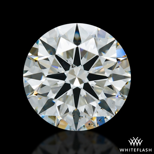 1.137 ct I VS2 A CUT ABOVE® Hearts and Arrows Super Ideal Round Cut Loose Diamond