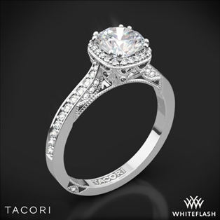 Pave Engagement Rings   Whiteflash