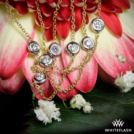 Whiteflash By The Yard Diamond Necklace